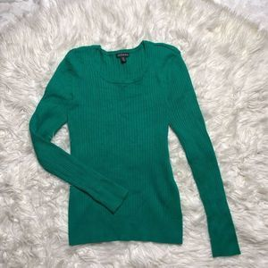 George Womens Pullover Sweater Crew Neck Ribbed M
